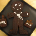 Drunk Gingerbread Man Cake