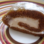 Sliced Pumpkin Cream Cheese Roll