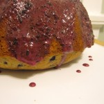 Final Wild Blueberry Lemon Poppy Seed Cake with Wild Blueberry Glaze