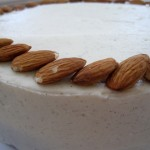 Almond Garnish for Cake