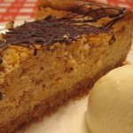 Slice of Carrot Cheesecake