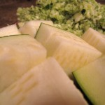 Chopped and Grated Zucchini