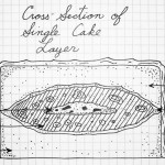 Single B52 Cake Layer Cross-Section