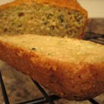 Cross Section of Zucchini Bread
