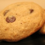 Banana Chocolate Chip Cookie for Slider