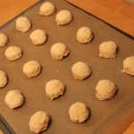 Ginger Meyer Lemon Cookie Dough Balls