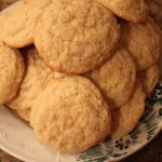 Plage of Ginger Meyer Lemon Cookies