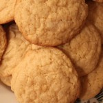 Ginger Meyer Lemon Cookies for Slider