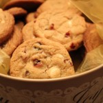 White Chocolate Craisin Cookies