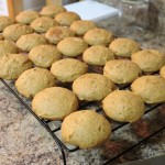 Pumpkin Butter & Spice Cookies Cooling on Wire Rack