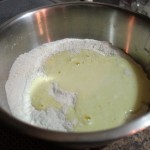 Meyer Lemon Muffin Batter