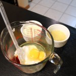Meyer Lemon Muffin Wet Ingredients